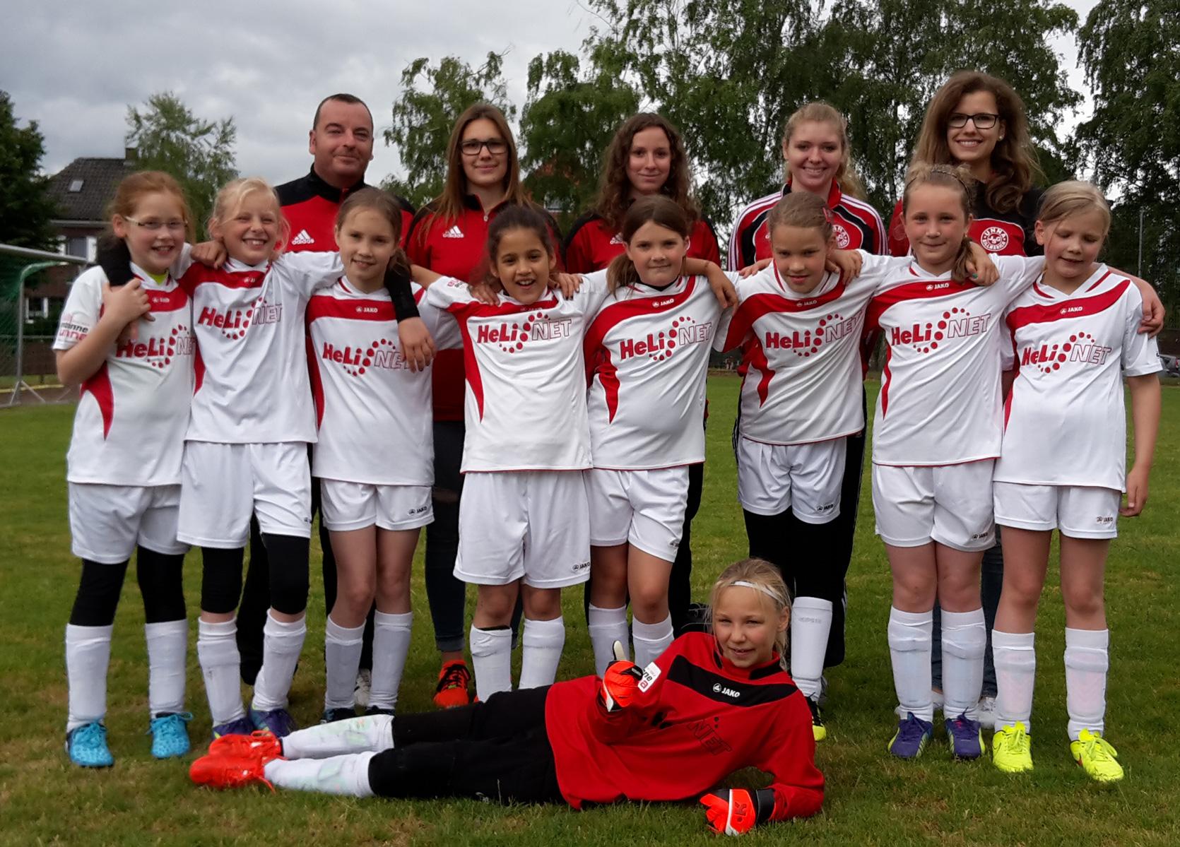 E-Mädchen beim Turnier in Bockum-Hövel