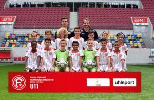 U-11 Fortuna Düsseldorf Nachwuchsleistungszentrum am 11.8.15