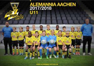 alemannia aachen U11-Poster_2017-2018-