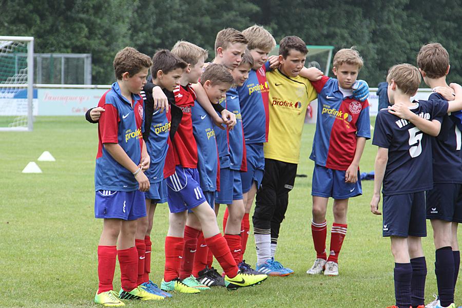 Die E1-Junioren sicherten sich zum Saisonende Platz 3 beim Turnier des TuS Ascheberg