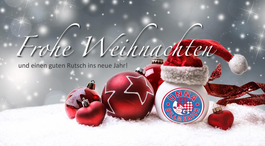 Die JSG wünscht frohe Weihnachten und einen guten Rutsch ins neue Jahr!