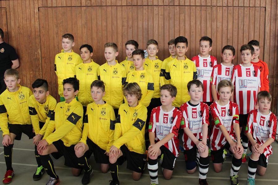 Turniersieger BVB und das Team der JSG