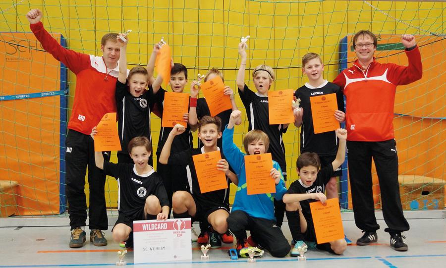 Die U11 des SC Neheim gewinnt den Franz-Stuckmann-Cup 215