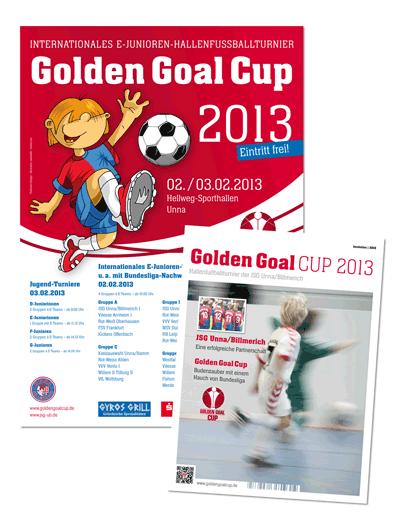Plakat und Magazin zum GGC 2013