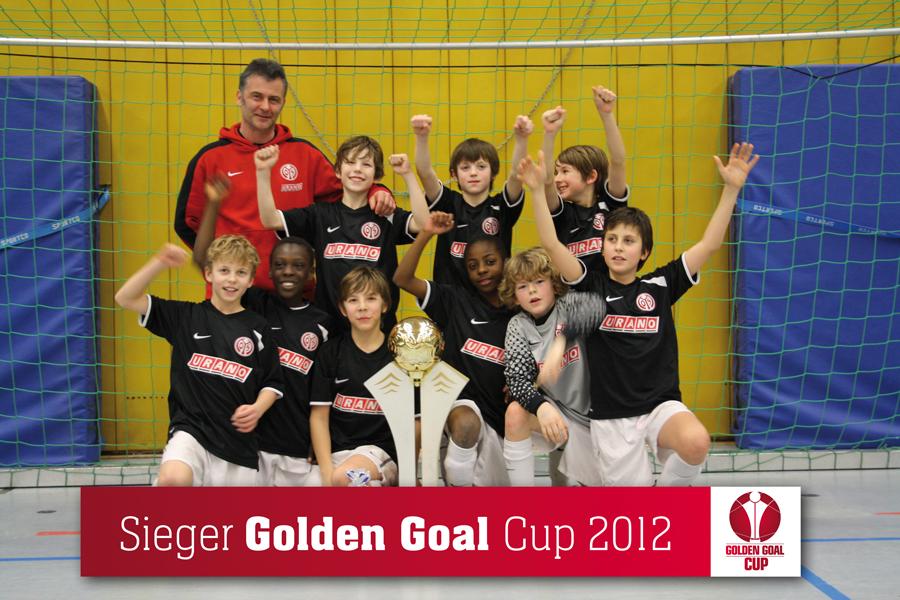 Golden Goal Cup-Sieger 2012: 1. FSV Mainz 05