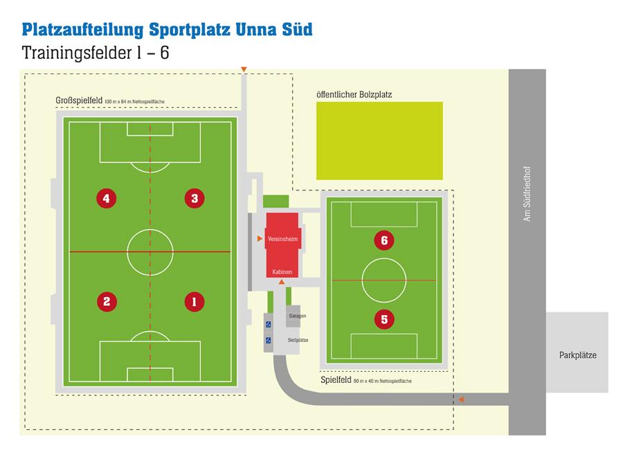 Sportanlage Süd, Unna