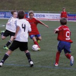 E1-Junioren in Aktion