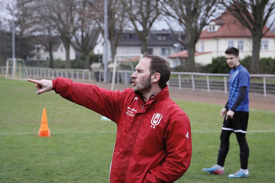 A-Juniorentrainer Giovanni Ciccarese