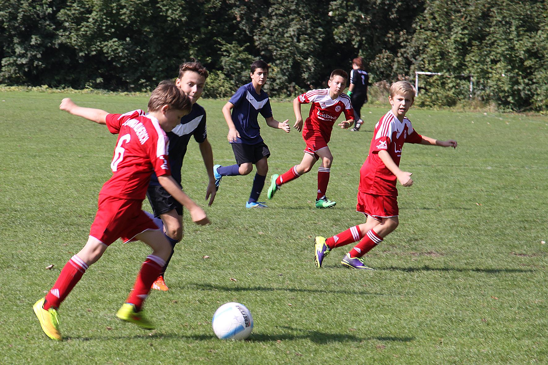 Spielszene JSG Unna/Billmerich gegen Königsborner SV D1-Junioren