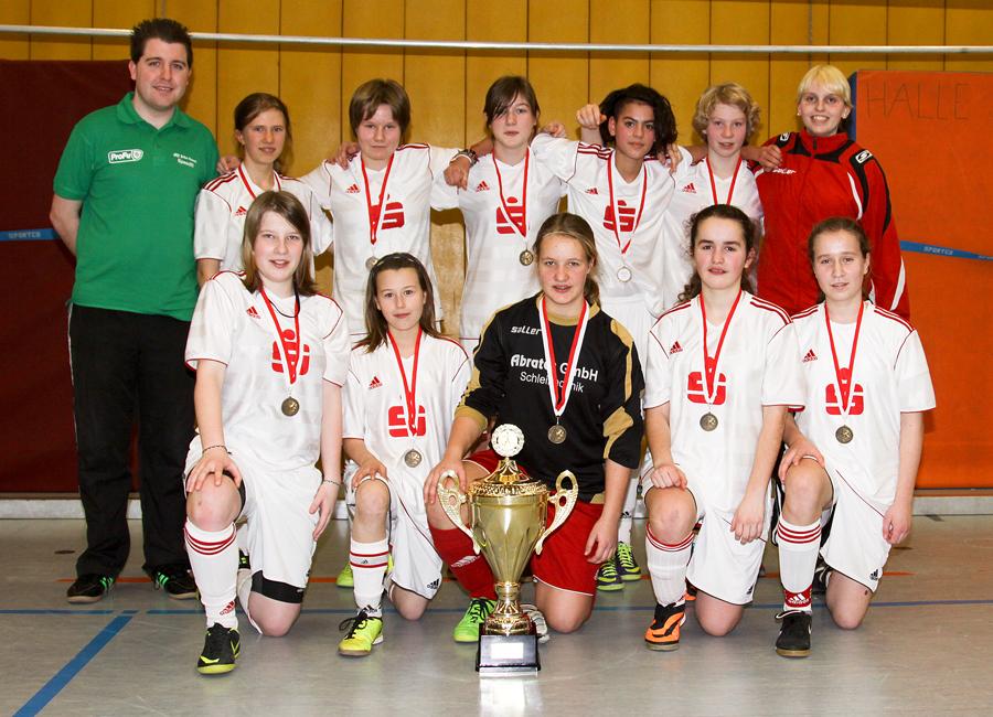Westfalenmeister 2014: Die U14-Juniorinnen des Kreises Bielefeld